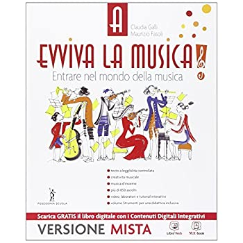 Evviva La Musica. Per La Scuola Media. Con E-Book. Con Espansione Online: 1