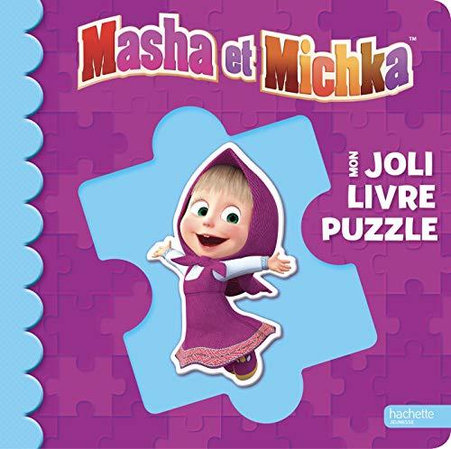 Masha et Michka - Mon joli livre puzzle NED