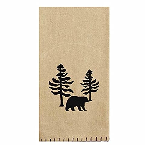 Home Collection by Raghu ETRE0147 Twin Pines Lodge Towel, 18