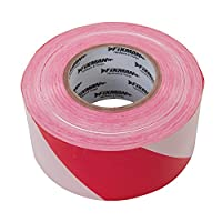 Fixman 194216 Red & White Barrier Tape 70mm x 500m