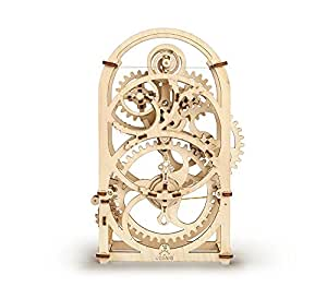 UGEARS 70004 - Timer Mechanisches Uhrwerk, 3D-Holzbausatz ohne Klebstoff