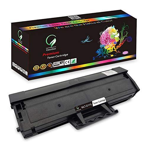 Gootior D111S Toner kompatibel Samsung MLT-D111S MLT-D111L für Samsung Xpress M2020, M2020W, M2022, M2022W, M2070, SL-M2026W SL-M2070W Xpress M2026 M2070FW M2021W M2070FW M2070F M2071W Drucker