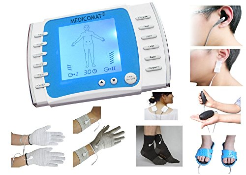 Tinnitus Behandlung Gerät Medicomat-21T Ohrensausen Tinnitus Akupunktur Verwaltung Klangtherapie