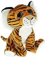 """Amazon Brand - Jam & Honey - 7"""" (18cm) Bright Eye Tiger Orange"""