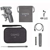 DJI Osmo Mobile 3 Prime Combo - Handgeführter Smartphone-Gimbal mit Stabilisierung auf 3 Achsen für Vlogging, Youtuber…