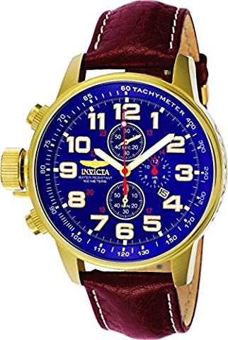 Invicta Herren-Armbanduhr Quarz Chronograph 3329