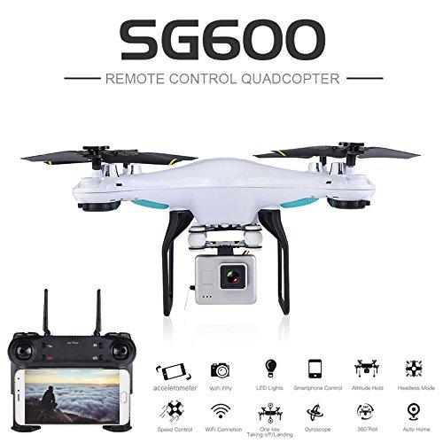 SG600 RC Quadcopter Drone WIFI Live Transmission HD Camera Remote Control Aircraft Toys Gift - Pto Control