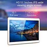 MingXiao Android 5.1 Octa-Core Dual SIM 3G 4G + 64GB Bluetooth 2560 * 1600 WiFi Tablet PC mit der Dual Fotokamera GPS for Display 10 Zoll compresse (EU Stecker) (Gold Color)