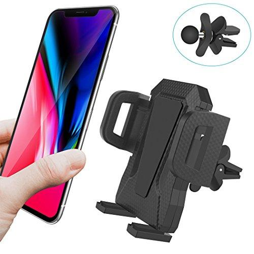 TOFURT Handyhalterung für Auto Lüftung KFZ Halterung Universal Kompatibel für Samsung Galaxy S9/S9+/S8/S8+/Note8/S7/S7Edge/S6/S6Edge,iPhoneX/8Plus/8/7Plus/7/6s/6 Smartphone Navigation Autohalterung