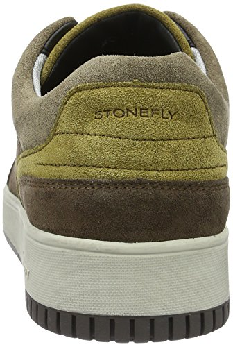 Stonefly Dover 1, Baskets Basses Homme Marron (Oak Brown/Almonds 38)