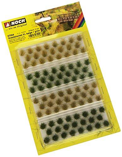 Noch 07004 - Grasbüschel, XL, beige/grün