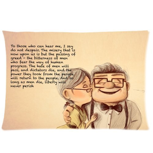 pixar-carl-and-ellie-custom-zippered-pillow-case-20x30-twin-sides