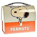 Peanuts Snoopy Brotdose aus Metall - Lunchbox Vesperbox Comic Brotbox aus Metall