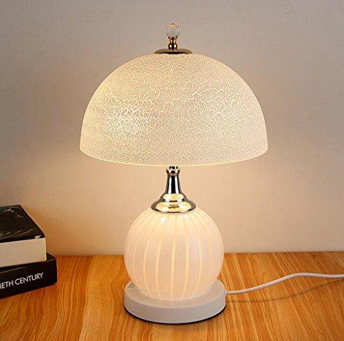 Lozse Moderne, Schlafzimmer, Dimmen, Nachttisch, Glas, Lampe, einfache, Dekoration, Tisch lampe, led, warmes Licht, Studie, Schreibtisch Lampe -