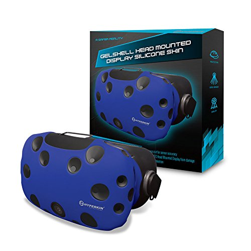 Casque VR - Housse Protection - Silicone - Bleu -