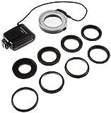 Polaroid LED Makro-Ringblitz & Licht für die Nikon D5300, D5000, D3000, D3200, D5100, D5200, D3100,...
