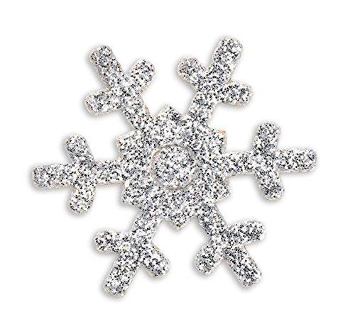 autocollant-paillettes-argente-flocon-de-neige-lot-de-12-pieces