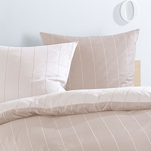 Lorena Textil Monaco Kissen Baumwolle (beige, 40 cm x 80 cm) - 2