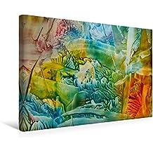 Calvendo Premium Textil-Leinwand 45 cm x 30 cm Quer, Blütenträume | Wandbild, Bild auf Keilrahmen, Fertigbild auf Echter Leinwand, Leinwanddruck: Faszination in Form und Farbe Kunst Kunst
