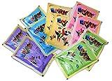 Enjoy Holi Colors 100gm * 10 Pcs Pack (Green, Yellow, Pink, Blue, Purple)