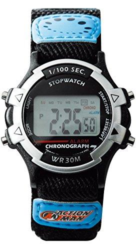 Action Man -Armbanduhr Quarz Textil AM364 (Digitale Tempo-uhr)