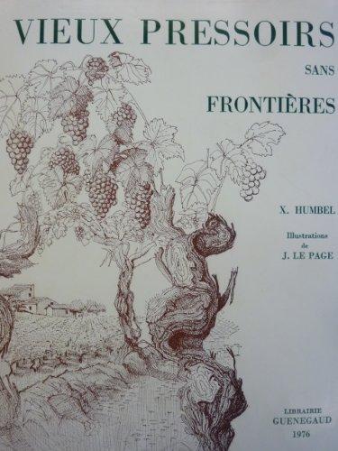 Vieux pressoirs sans frontières
