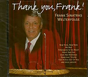 Thanky You, Frank!