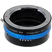 Fotodiox Pro - Adaptador para objetivos Yashica AFT a Sony NEX con adaptador E (para cámaras no réflex Olympus Panasonic MFT a Sony Nex)