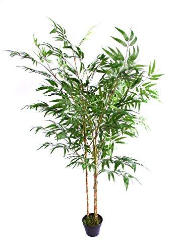 Best Artificial - Bambou artificiel vert de 180 cm