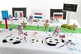 cama24com Fußball Tischkartenhalter Fotohalter Tischdeko 4 Stück Palandi® - 2