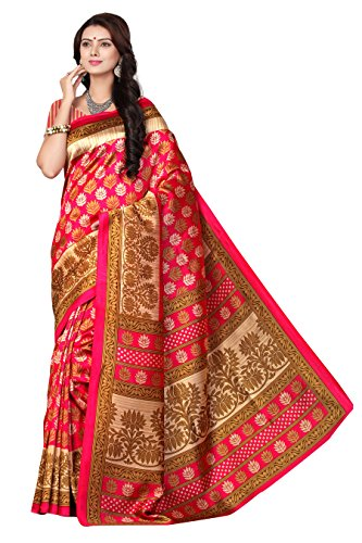 Saree(Desney fashion Saree for Women Party Wear Half Sarees Offer Designer Below 1000 Rupees Latest Design Under 300 Combo Art Silk New Collection 2018 In Latest With Designer Blouse Beautiful For Wom