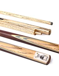 PowerGlide Tournament Catalyst 2-Piece Centre Split Cue, Natural/Brown, 57 Inch