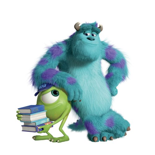 Disney RoomMates Wandaufkleber für Kinder, Monsters University Sully und Mikey Fingerring GIANT (Monsters Aus Mike Inc Baby)