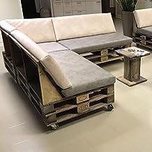 DerPalettenMöbelShop palé Muebles de Sofá Comfy de Cozy de Palets ippc Certificados, cada pieza es