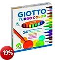 Giotto, 24 Pennarelli Giotto Turbo