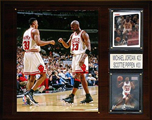 C & I Collectables NBA Chicago Bulls Michael Jordan-Scottie Pippen Player Plakette, 30,5 x 38,1 cm