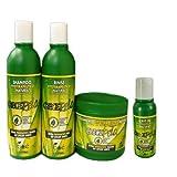 Crece Pelo Boe Set–Produkte für Haarwachstum, Maske 450g, Shampoo, 370ml, Spülung 350g, Crece Pelo, revitalisierend, ohne Ausspülen, 113g