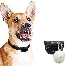 Nakosite PET2433 El Mejor Collar Anti-Ladridos, Collar Frena-Ladridos. Utiliza sonidos y vibraciones audibles. SIN CHOQUES ELECTRICOS. Chip Avanzado con 7 Niveles Ajustables de Sensibilidad. Correa de cuello de nylon flexible y ajustable para perros pequeños, medianos y grandes. El color es negro. PRIMA: GRATIS PLACA DE IDENTIDAD-LED.
