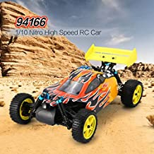 MachinYeser 94166 1/10 Escala 2.4G 4WD Gas Nitro Power Off Road Buggy RC