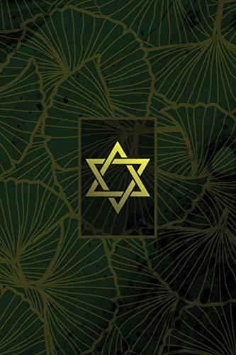 Monogram Judaism Notebook: Blank Journal Diary Memoir Log Logue por N.D. Author Services