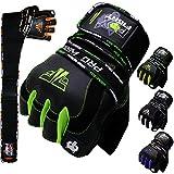 PRO WRIST Kraftsport Trainings Fitness Handschuhe
