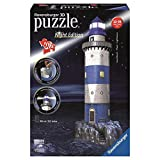 Ravensburger RAVENSbURGER 3D Puzzle bauwerke Leuchtturm bei Nacht