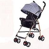 &Baby Kinderwagen Baby Cart Mini Regenschirm einfache tragbare Falten
