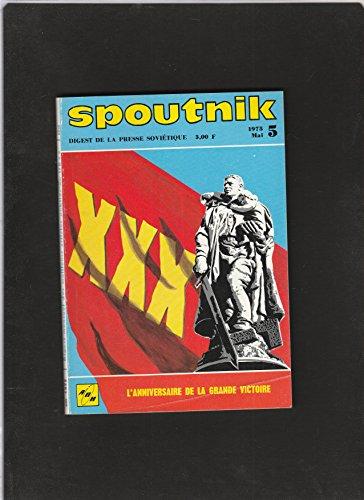 revue SPOUTNIK digest de la presse soviétique [No 5 de mai 1975] L'anniversaire de la grande victoire par Collectif