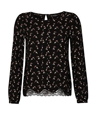 Vive Maria Sweet Swallow camicia Nero Allover Print nero XS