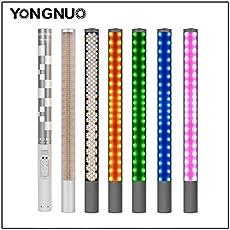 YONGNUO YN360II LED Video Light 3200-5500K RGB Full Color Photo LED Stick with adaptor