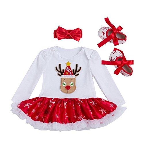 Säuglings Baby Spielanzug Kostüm Baby Weihnachts Kleidungs Sätze Choice (Weihnachten Kostüm Für Elf)