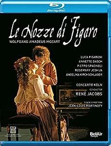 Mozart: Le Nozze Di Figaro  [Jean-Louis Martinoty; Luca Pisaroni; Concerto Köln; René Jacobs] [Bel Air Classiques: BAC517] [Edizione: Regno Unito]