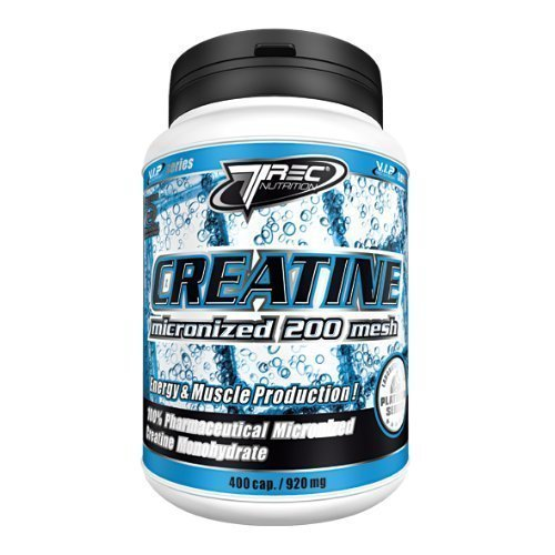 Best Creatine Micronized 200 Mesh (400 Caps) - Best Muscle Builder by Mammoth XT Supplements