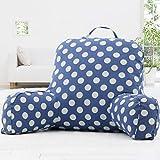MON5F HOME Mode Kissen Einfache Moderne Sofakissen Kissen Kopfteil Kissen Bürostühle Lendenkissen (Farbe: 1, Größe: XXL) (Color : 6, Size : X-Large)